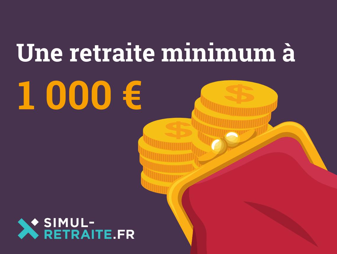 Calendrier Retraite Carsat 2020.Retraite Minimum A 1 000 Euros Qui Pourrait En Beneficier