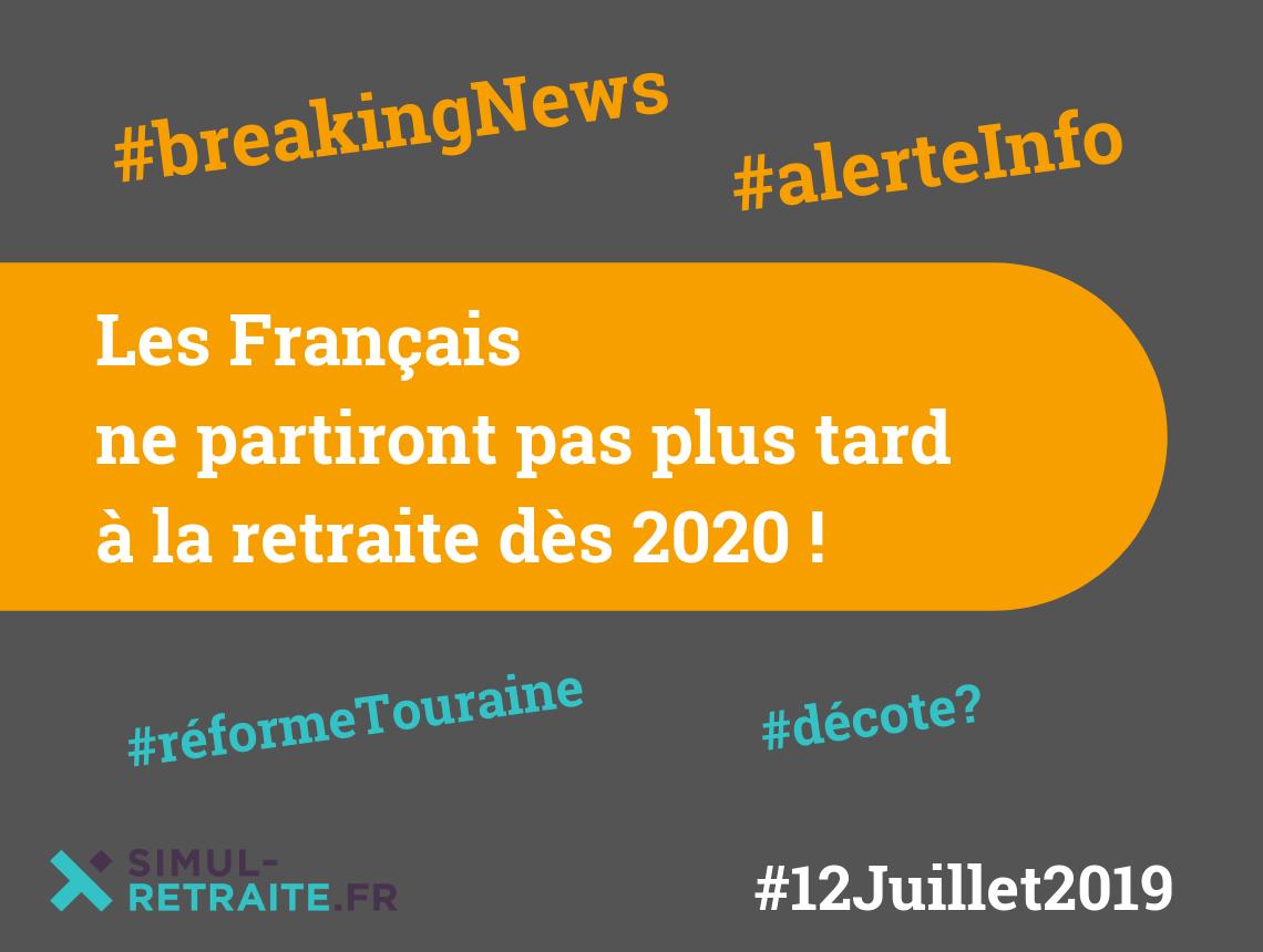 Calendrier Retraite Carsat 2020.Breaking News Les Francais N Auront Pas A Travailler Plus